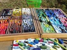 pastels_of_artist_Weedie_Tyldesley_by_Mike_Lach_13Sept2014_opt