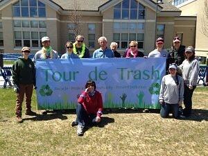 Tour de Trash Group Photo