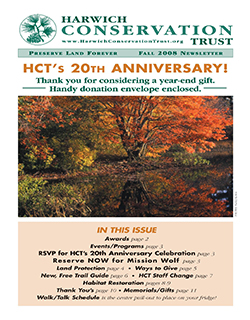 Newsletter - Fall 2008
