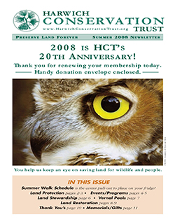 Newsletter - Summer 2008