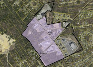 EHarwich commercial rezoning proposed area