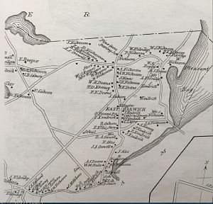 East Harwich from the original George H Walker Company 1880 map