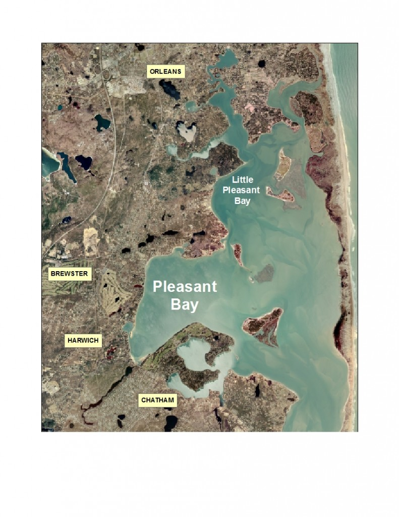 Pleasant_Bay-WATERSHED-scale_map_9June2014