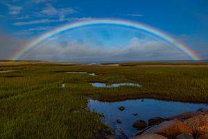 Rainbow sky by Gerry Beetham