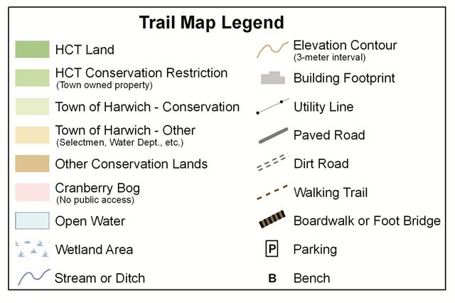 Trail Map Legend